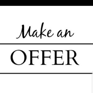 All reasonable offers welcomed!